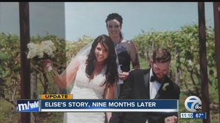 Elise's story, a year later