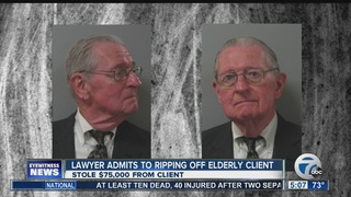 Lawyer admits stealing $75K from elderly client