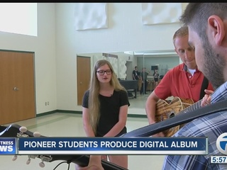 Pioneer students record a digital music album