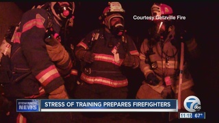Training puts local firefighters through it all