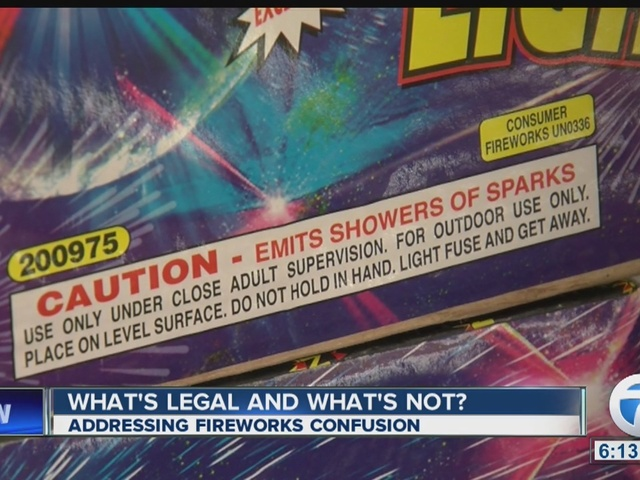 Changes to fireworks law in Chautauqua County