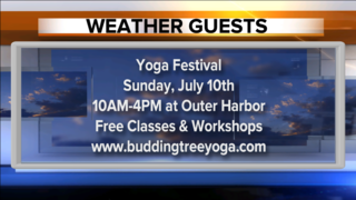 Friends from the Yoga Festival are our guests!