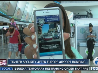 Airport, bus & rail security tighter in WNY