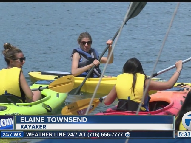 Erie County Sheriff to start ticketing kayakers