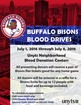 Bisons need blood donors to help save lives