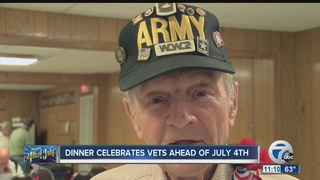 Celebrating veterans ahead of Independence Day