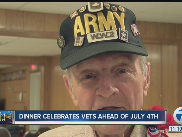 Celebrating Veterans ahead of July 4th