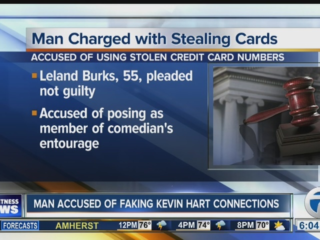 Man accused of pretending to be part of Kevin Hart's entourage