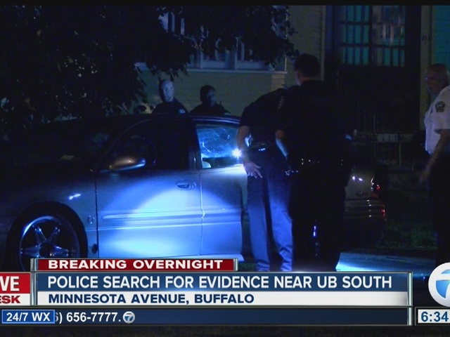 Police search for evidence at home near UB South