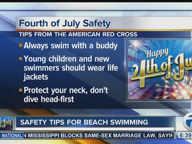 Red Cross offers 4th of July safety tips