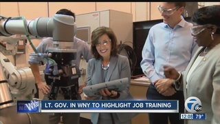 Lt. Gov. visits Buffalo manufacturing company