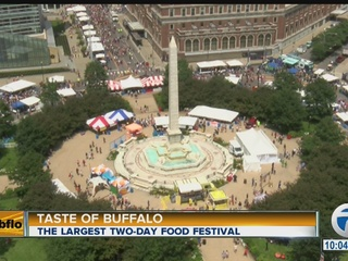 Lineup released for 2017 Taste of Buffalo