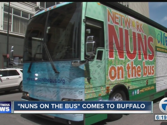 NUNS ON THE BUS COMES TO BUFFALO