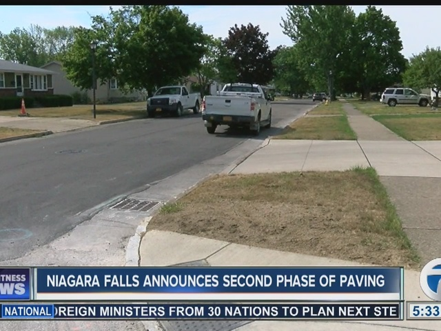 Niagara Falls announces 'phase 2' of road work