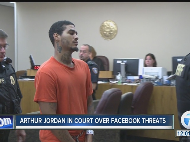 Man accused of threatening Buffalo Police appears in federal court