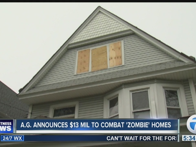 NY attorney general announces $13M to combat 'zombie homes'