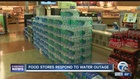 Stores and homes restocking water
