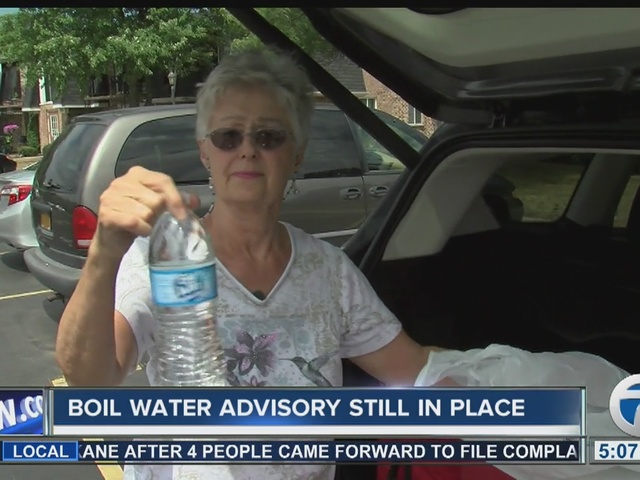 Boil water advisory remains in place in communities around northeast Erie County