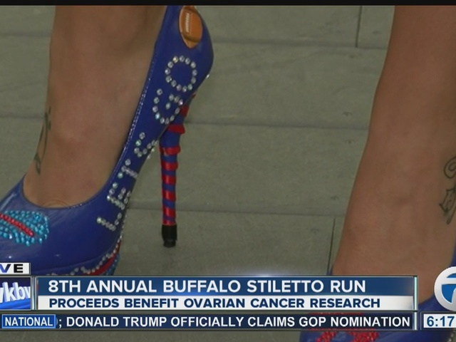 Runners prep for Buffalo's 8th annual 'Stiletto Run'