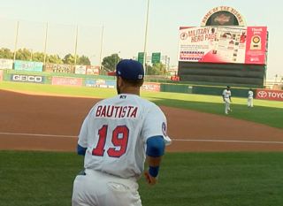 Jose Bautista goes 0-for-3 in Bisons debut