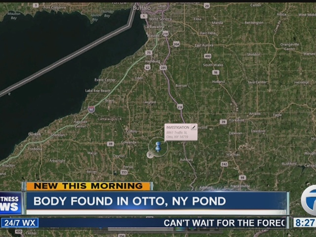 Sheriff probes death of woman found in Otto pond