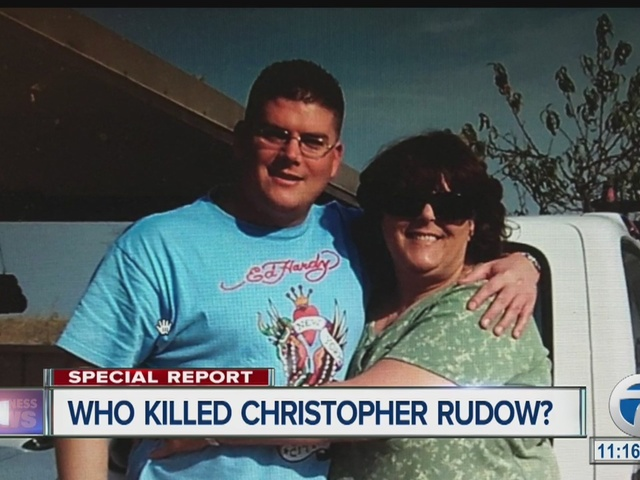 Who killed Christopher Rudow