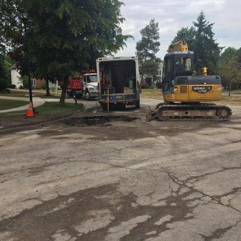 Multiple water main breaks in N. & S. Towns