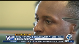 Buffalo party promoters talk security