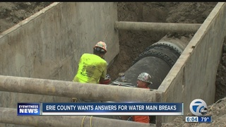 Legislators call for hearing with Erie Co Water