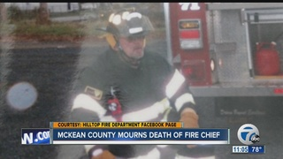 Fire Chief dies in the line of duty