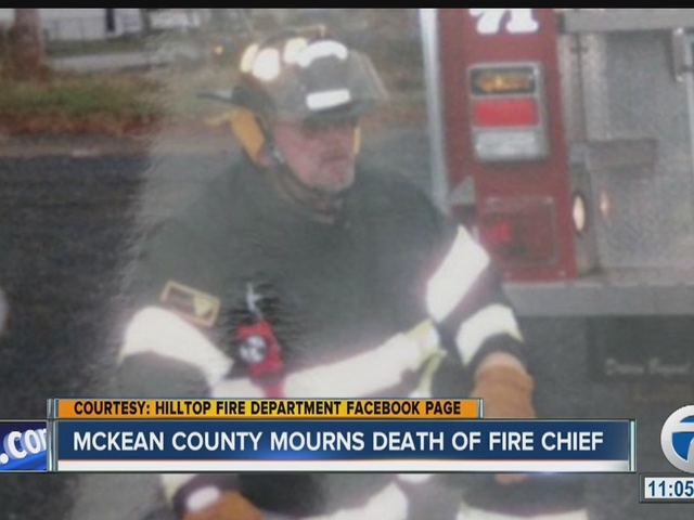 McKean County mourns death of Fire Chief