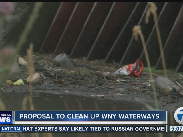 Proposal to clean up WNY waterways