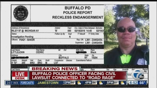 Buffalo police officer named in another lawsuit
