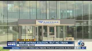 Lease delays train service to new train station