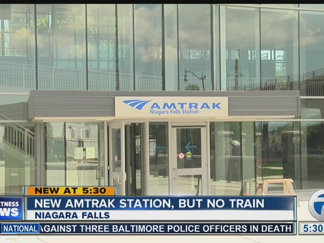 Lease agreement delays train service to new Amtrak Station