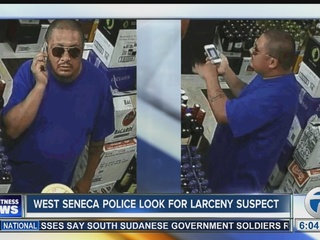 Police search for suspect in liquor store thefts