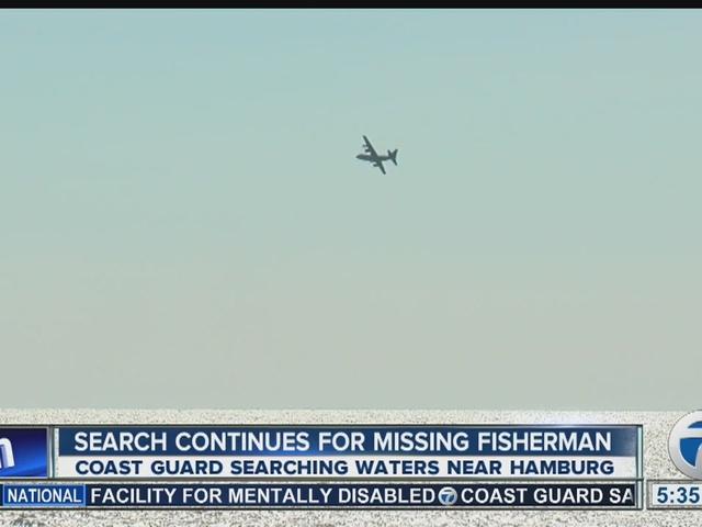 US Coast Guard searching for Canadian fisherman near Hamburg