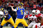 Rams cut QB Foles, should the Bills sign him?