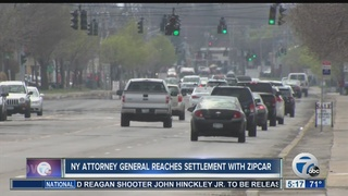 NY attorney general in settlement with Zipcar