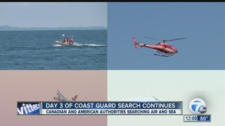 Day 3 of search for missing fisherman continues