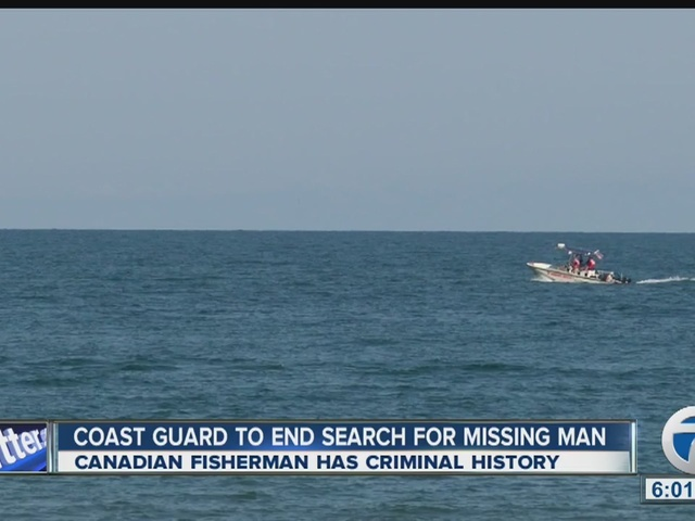 Coast Guard suspends search for missing man on Lake Erie
