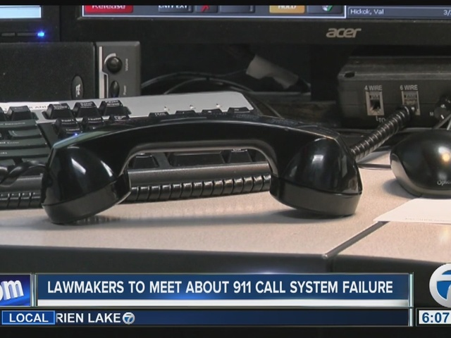 Lawmakers want answers to 911 system failure