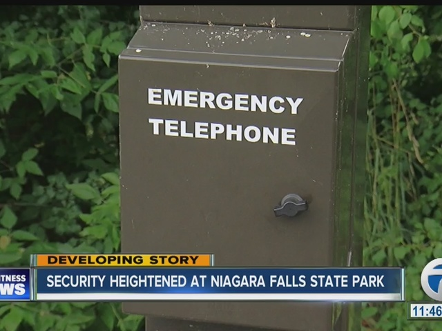 Security heightened at Niagara Falls State Park