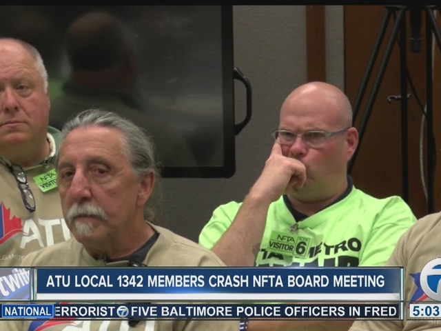 Union crashes NFTA board meeting