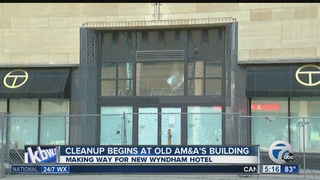 Cleanup work begins on redevelopment of AM&A's