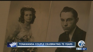 Tonawanda couple celebrates 75 years of marriage