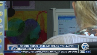 Opioid Crisis Hotline ready to launch