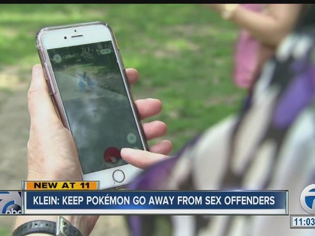 Keep Pokémon Go away from sex offenders