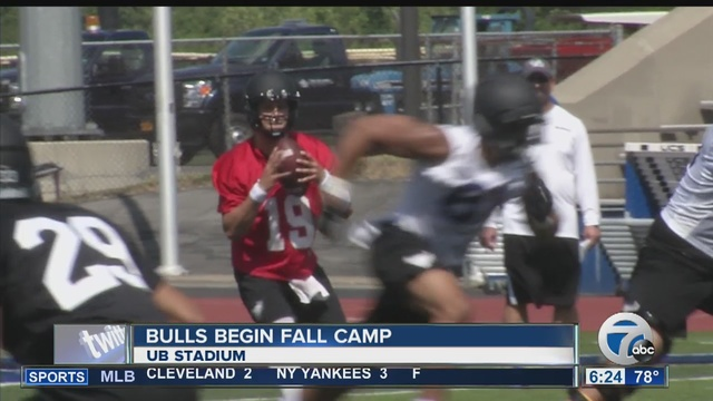 UB begins Fall camp