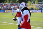 Bills' Watkins had foot stepped on, questionable